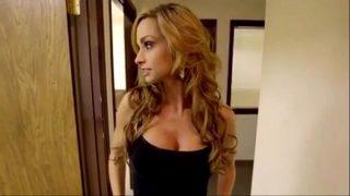 Busty Ashley Sinclair Giving Blowjob & Fucking